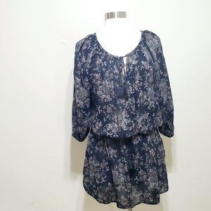 Denim & Supply Ralph Lauren Floral  Mini Dress M